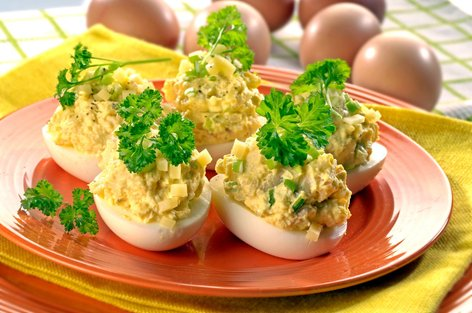Polnjena velikonočna jajca