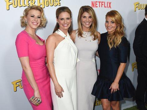 Igralci serije Polna hiša na premieri