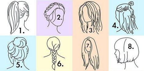 Kaj o vas razkriva frizura?