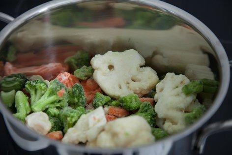 Kuhanje zamrznjene zelenjave