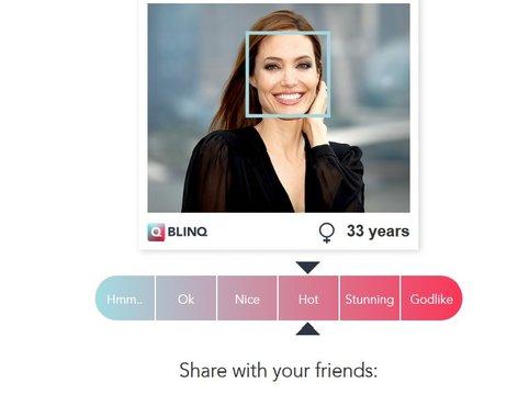 Aplikacija za merjenje privlačnosti