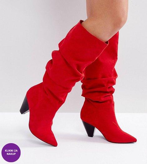 Škornji s peto - 5