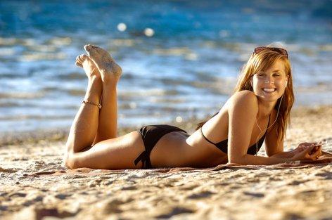 Uživanje na plaži - 1