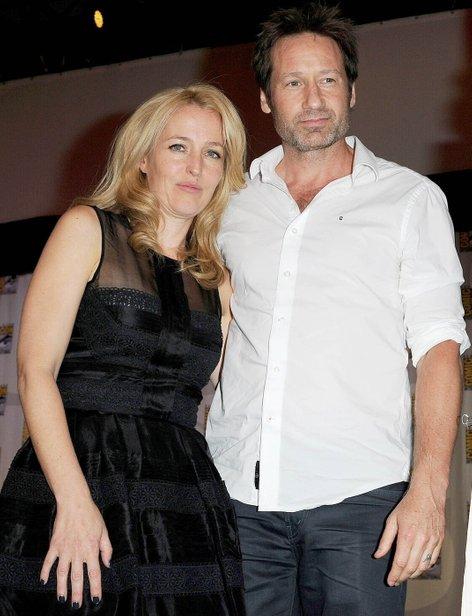 David Duchovny in Gillian Anderson - 2