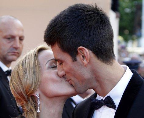 Novak Đoković in Jelena Ristić