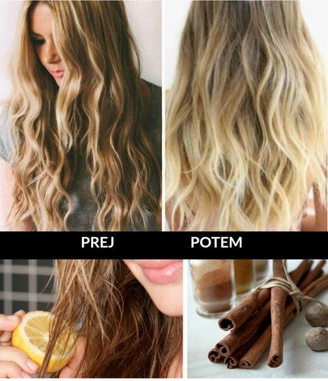 Kako posvetliti lase