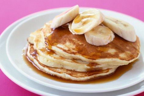 Bananine palačinke brez moke in mleka