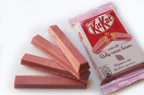 Ruby rožnata čokolada