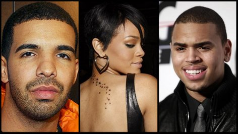 Drake, Rihanna, Chris