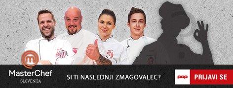 MasterChef Slovenija poziv k prijavi