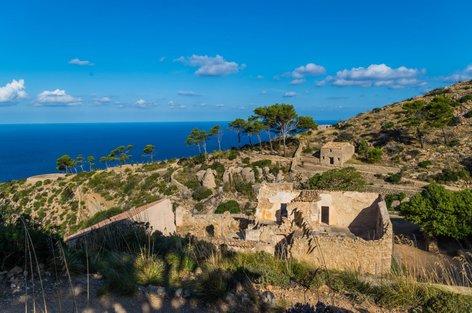 ruševine samostana La Trapa