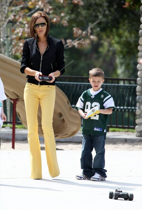 Victoria in Romeo Beckham