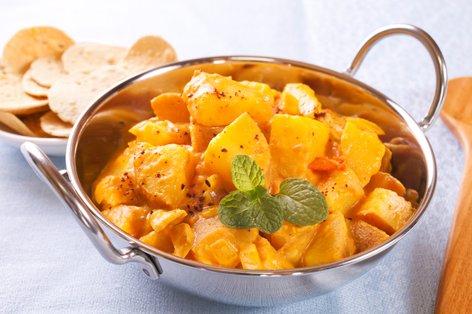 Hitri krompirjev curry