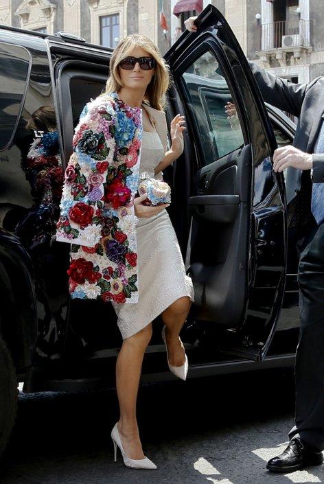 Melania Trump na Siciliji