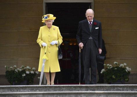 Kraljica Elizabeta in princ Phillip