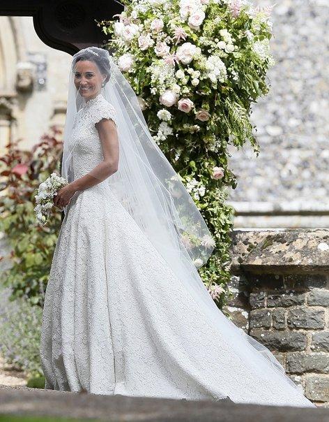 Pippa Middleton, prihod na poroko - 6
