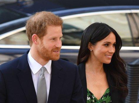 Princ Harry in Meghan Markle