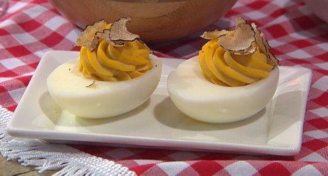 Jajčka mimoza s tartufi