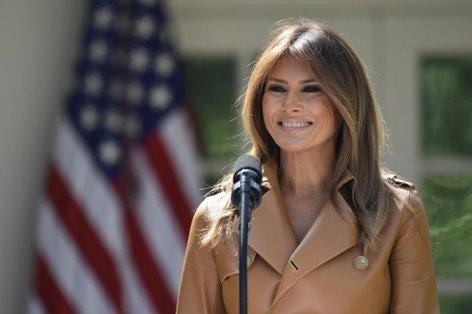 Melania Trump ob predstavitvi kampanje Bodi najboljši
