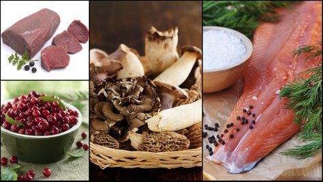 Sestavine nordijske kuhinje