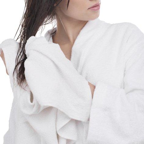 Sušenje las z brisačo - 1