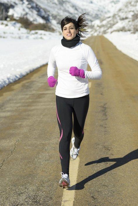 Ženska teče