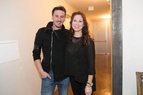 Sabina Kogovšek in Jernej Čampelj