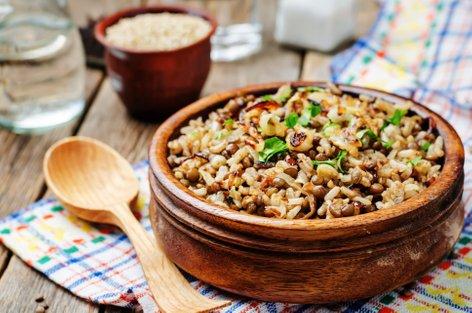 Leča in riž