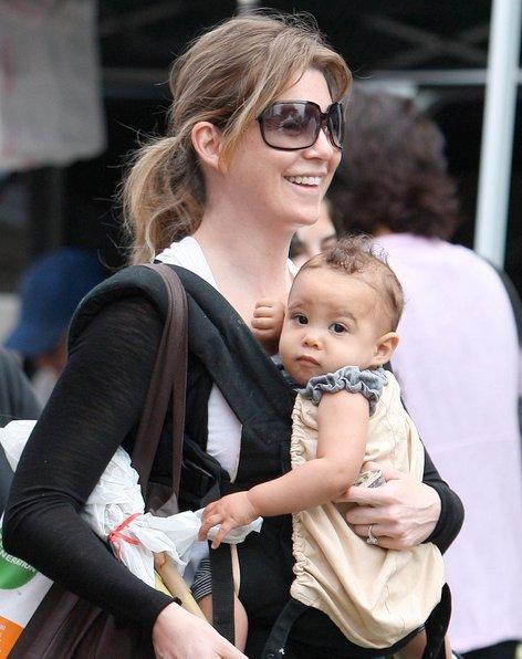 Ellen Pompeo s hčerko