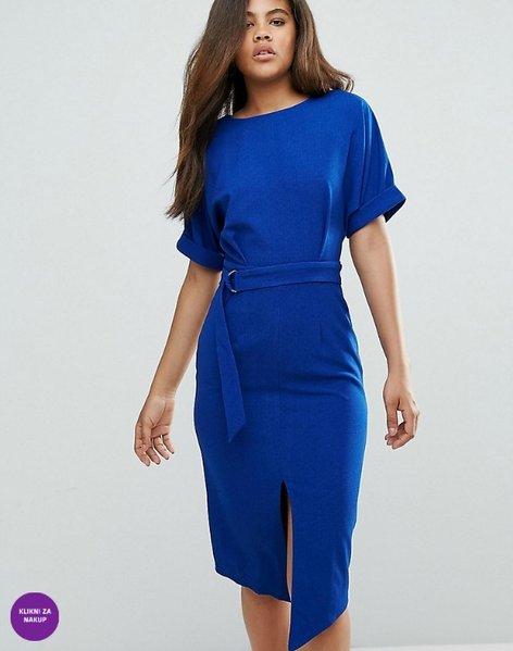 Trendi modra obleka - 1