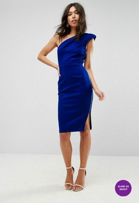 Trendi modra obleka - 3