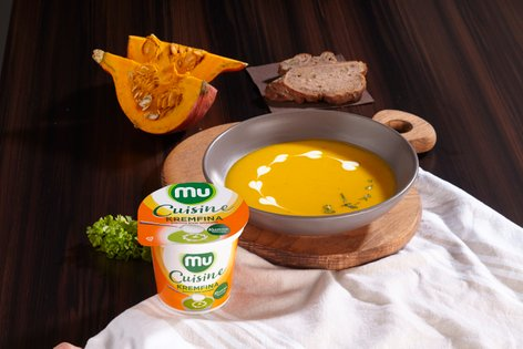 Bučna kremna juha s Kremfino