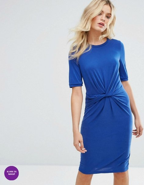 Trendi modra obleka - 2