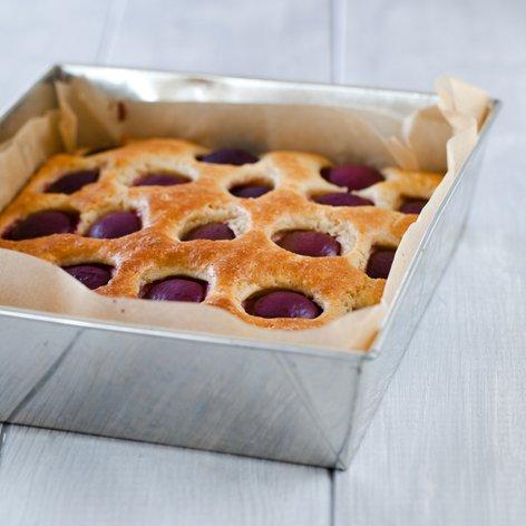 Preprost slivov kolač
