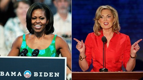 Michelle Obama in Ann Romney