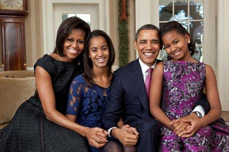 Obama družina