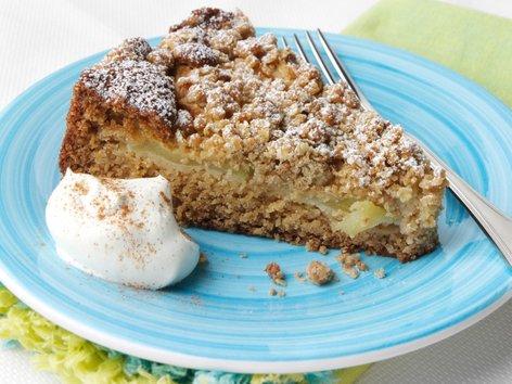 Jabolčni kolač z drobljencem