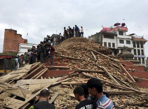 Potres v Nepalu - 3