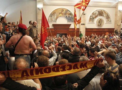 Prostesti v Makedoniji - 4