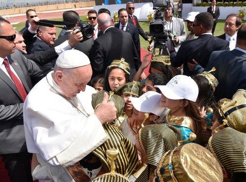 Papež Frančišek v Egiptu - 7