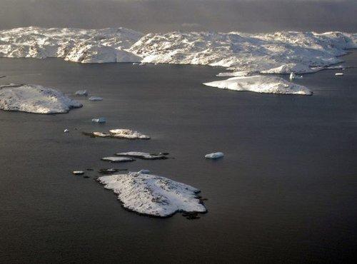 Ledene gore na Grenlandiji