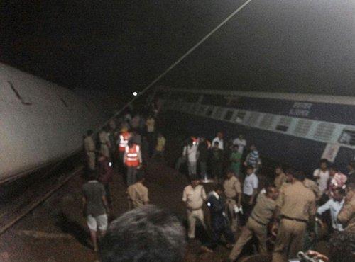 iztirjenje vlakov v Indiji