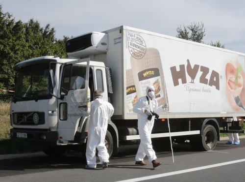 tovornjak v Avstriji