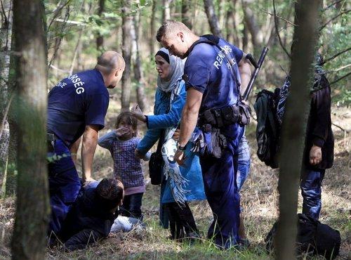 Aretacija beguncev na Madžarskem - 5