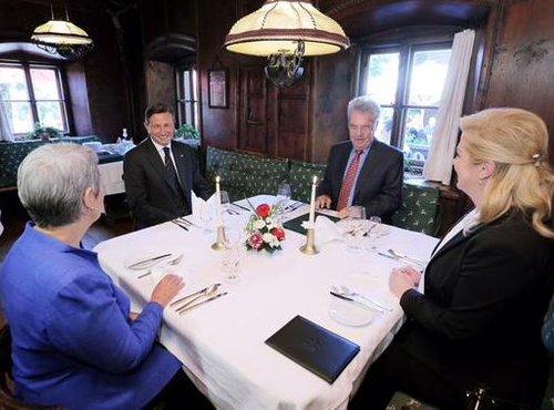Kosilo predsednikov v Alpbachu