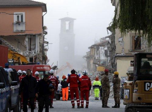 Italija po potresu