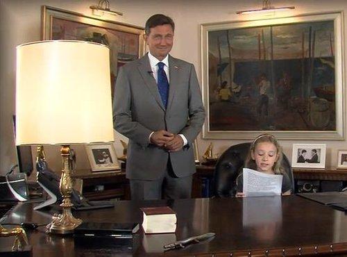 Pahor in učenka Ela