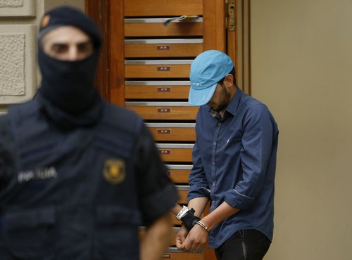 Osumljenec za napad v Barceloni