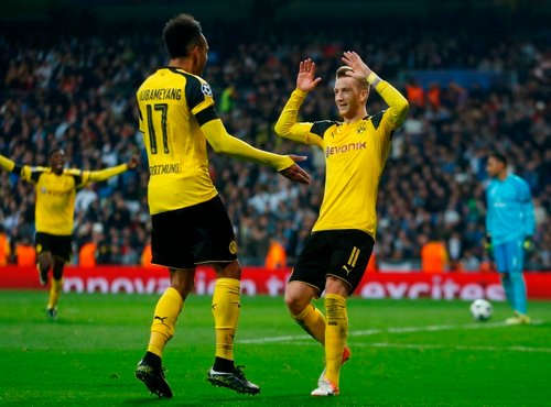 Real Madrid Borussia Dortmund - 3