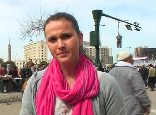 Katja Horvat se javlja iz Kaira